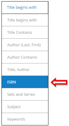 1-Easy Search ISBN